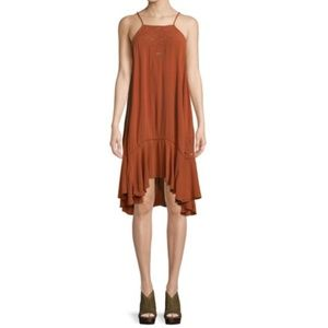 Free People Women Embroidered Tunic Dress